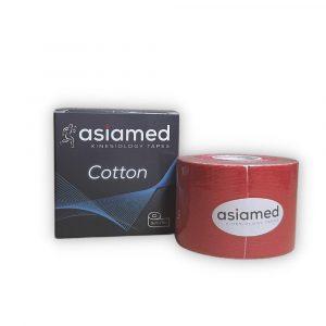 ASIAMED Kineziológiai Szalag / Tapasz 5 cm x 5 m Piros