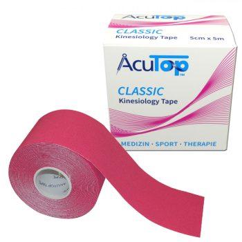 ACUTOP Classic Kineziológiai Szalag 5 cm x 5 m Rózsaszín*