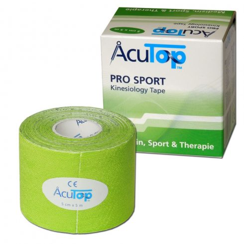 ACUTOP Pro Sport Kineziológiai Tapasz / Szalag 5 cm x 5 m Zöld