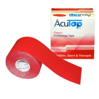 ACUTOP Classic Kineziológiai Szalag / Tapasz 5 cm x 5 m Piros*
