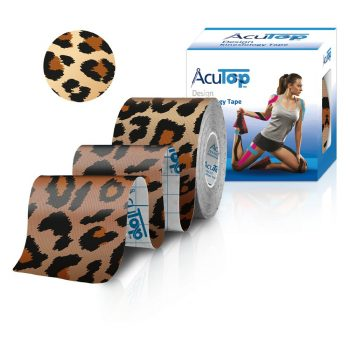 ACUTOP Design Kineziológiai Tapasz / Szalag 5 cm x 5 m Leopárd*