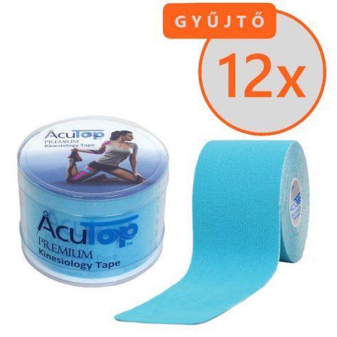 ACUTOP Premium Kineziológiai Tapasz / Szalag 5 cm x 5 m Kék 12 DB/GYŰJTŐ