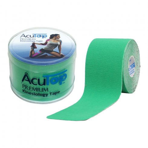 ACUTOP Premium Kineziológiai Tapasz / Szalag 5 cm x 5 m Zöld