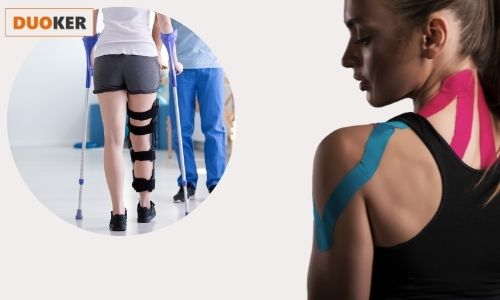 Kinesio tape különböző fájdalmakra, sérülésekre, rehabilitációhoz és megelőzésként